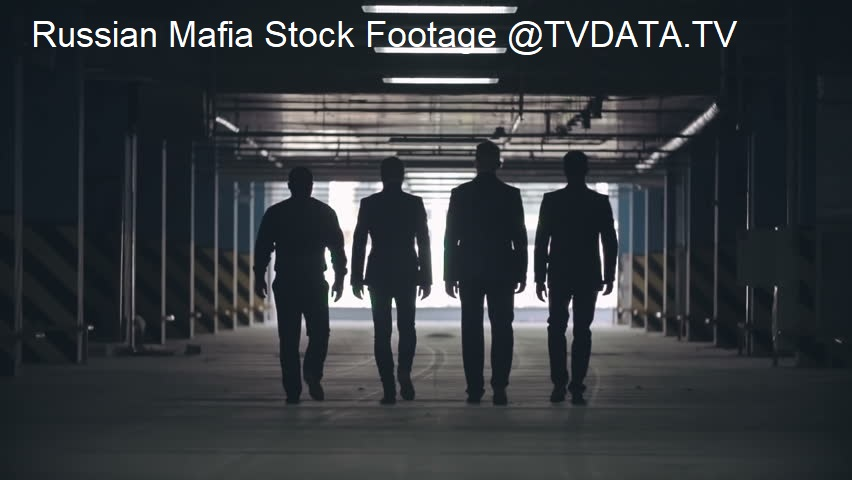 Russian Mafia Stock Footage