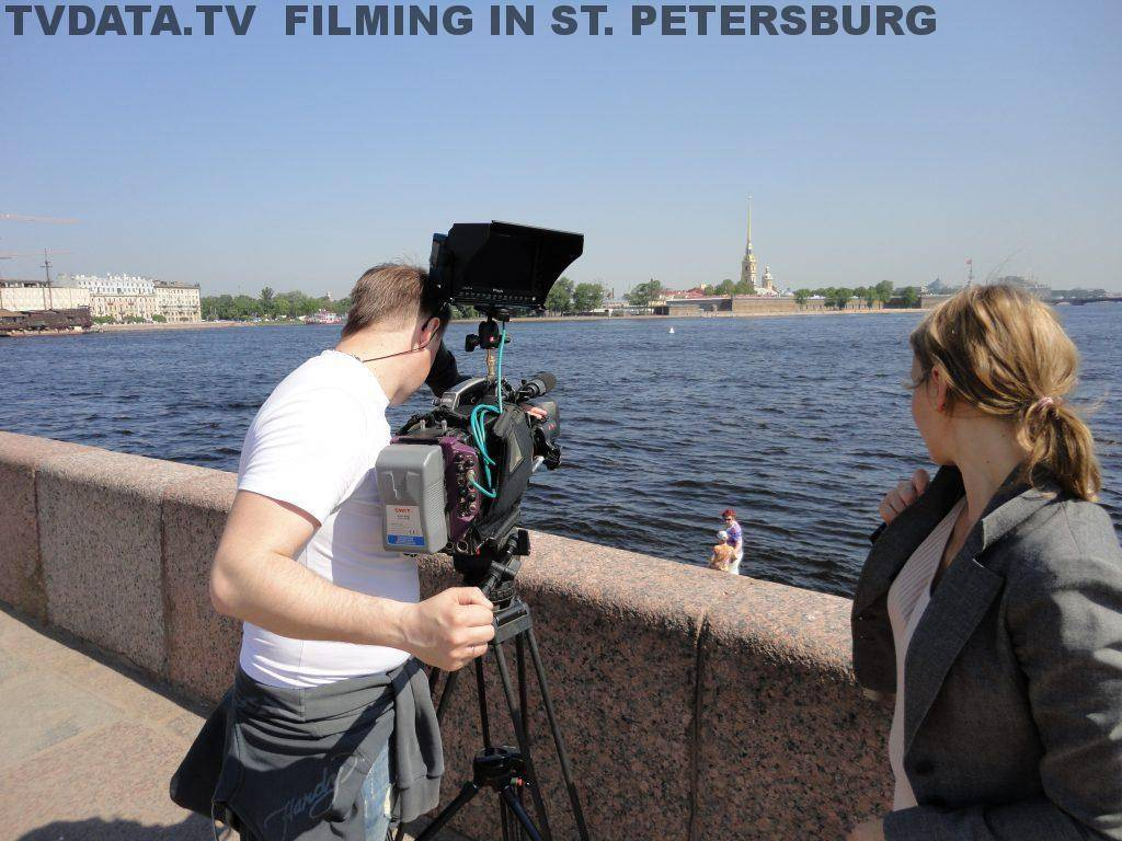 FILMING IN RUSSIA - ST. PETERSBURG