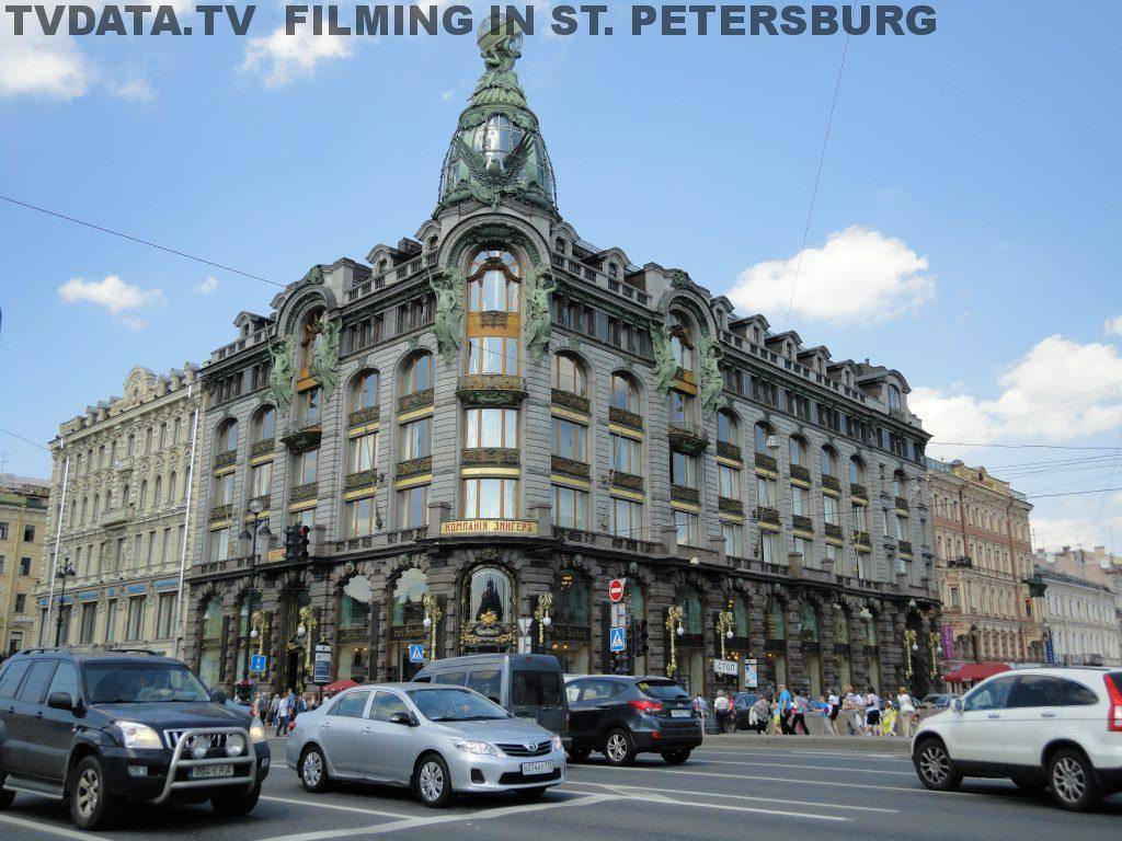SUMMER FILMING IN RUSSIA - ST. PETERSBURG
