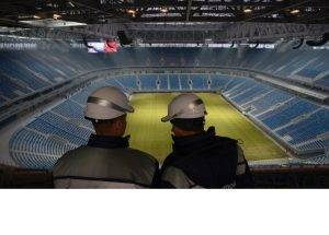 Filming in Russia in July 2018 during the FIFA World Cup