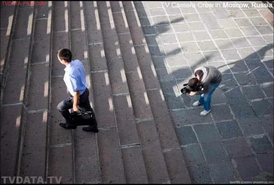 TVDATA.TV CAMERA CREW WORKING ON GOOGLE FILM