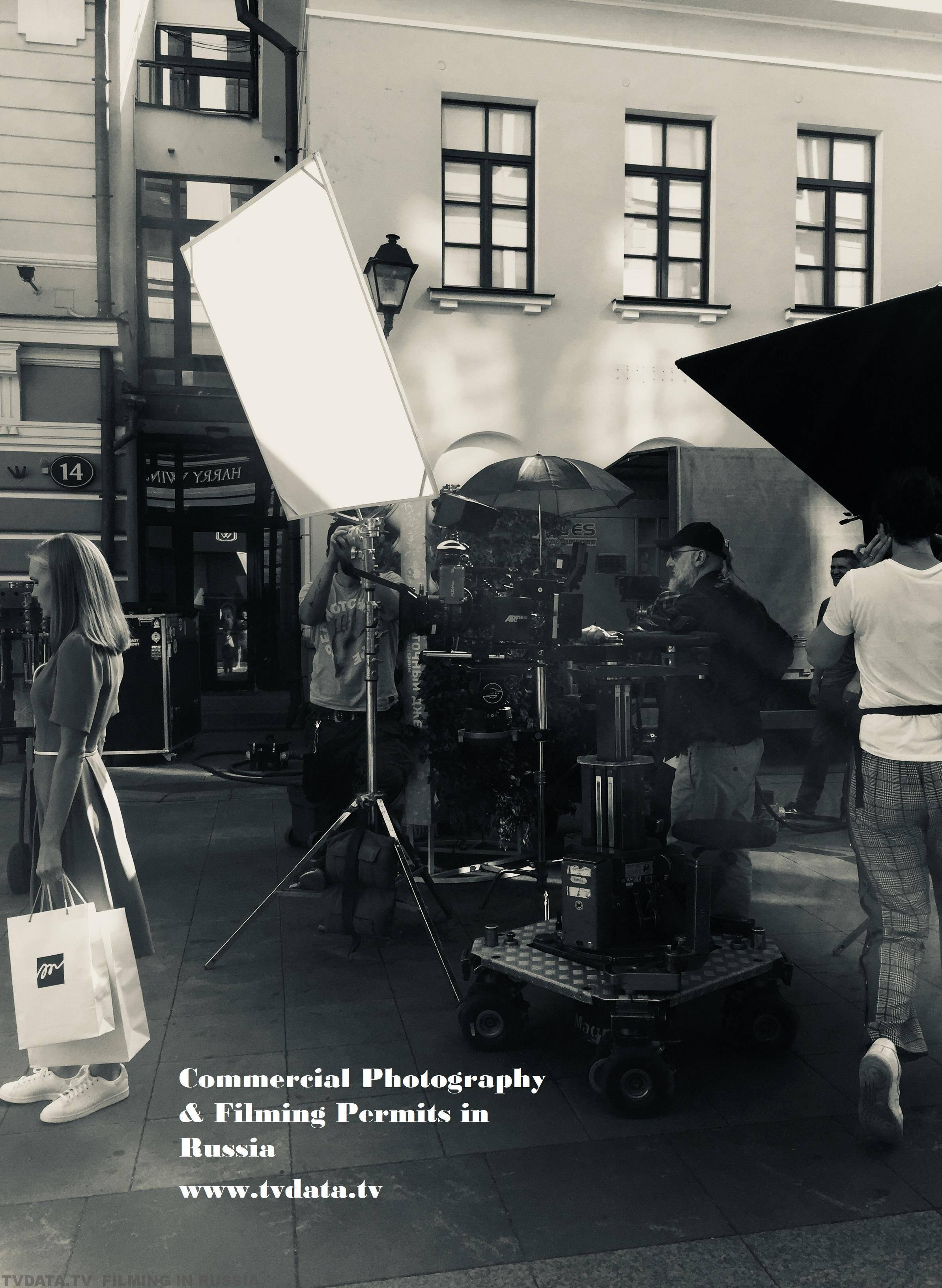 COMMERCIALPHOTOGRAPHY &FILMINGPERMITS IN RUSSIA