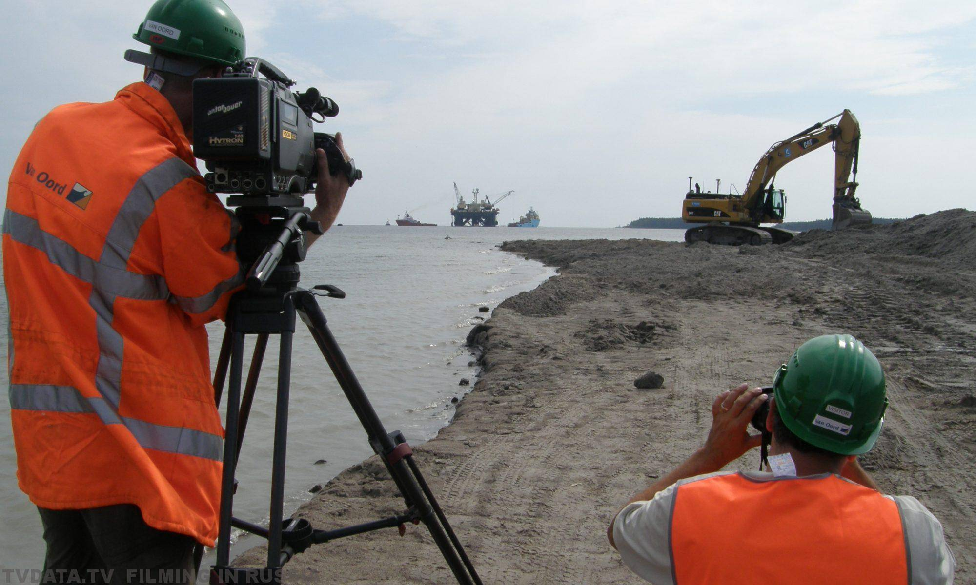 FILMING NORDSTREAM PROJECT FOR A SCANDINAVIAN CLIENT