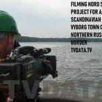 FILMING NORD STREAM PROJECT FOR A SCANDINAVIAN CLIENT. VYBORG TOWN ON A NORTHERN RUSSIAN BORDER