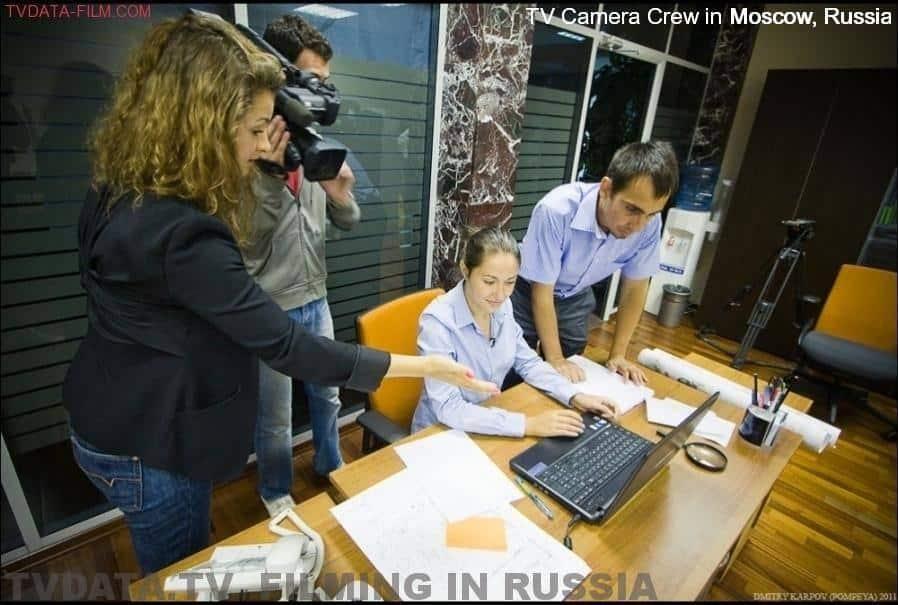 tvdata.tv produced a corporate film for google in Russia