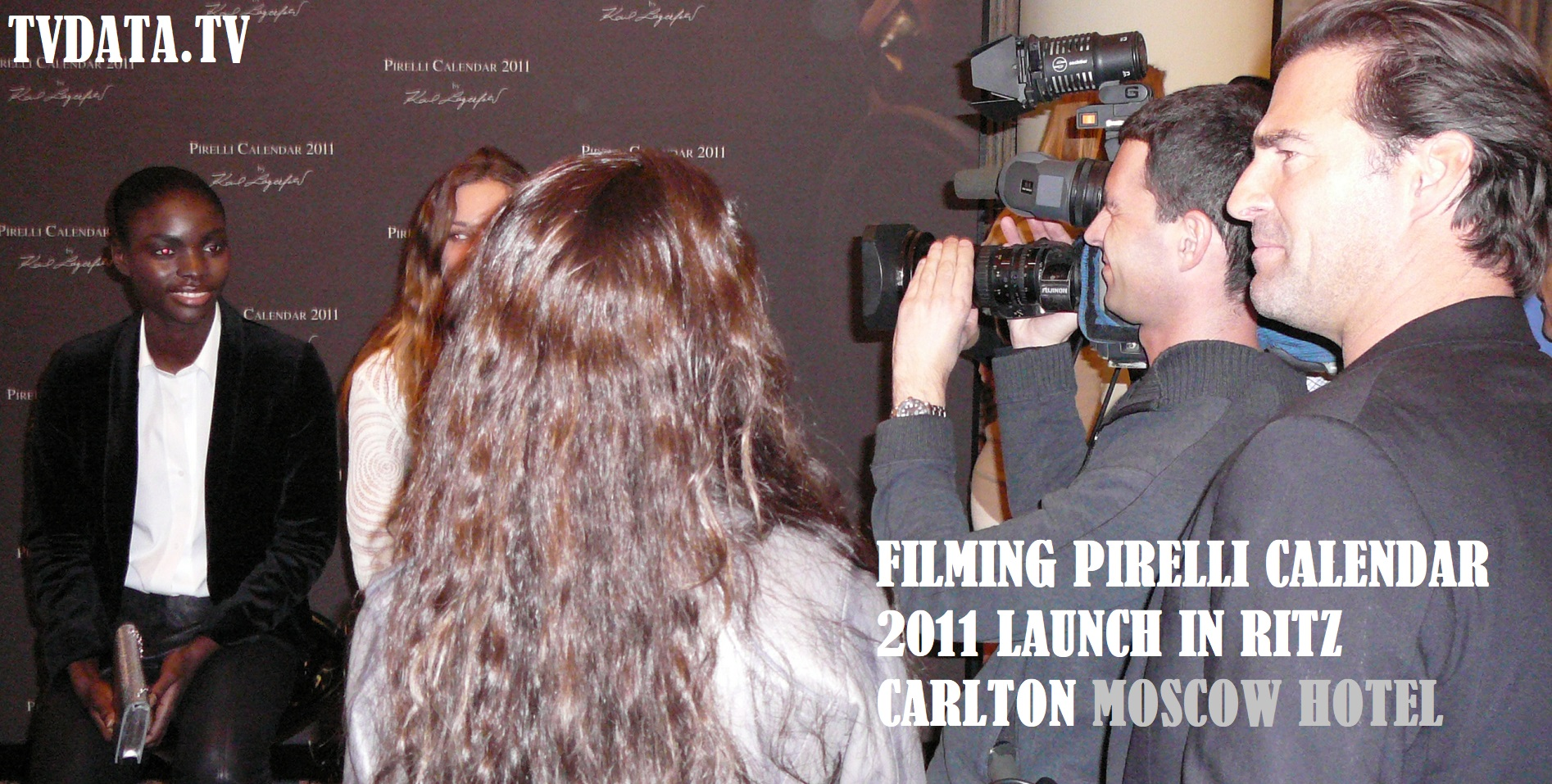 Video recording Pirelli event in Moscow-Ritz-Carlton Hotel