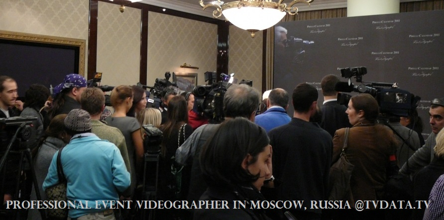 Professional Event Videographer in Moscow, Russia