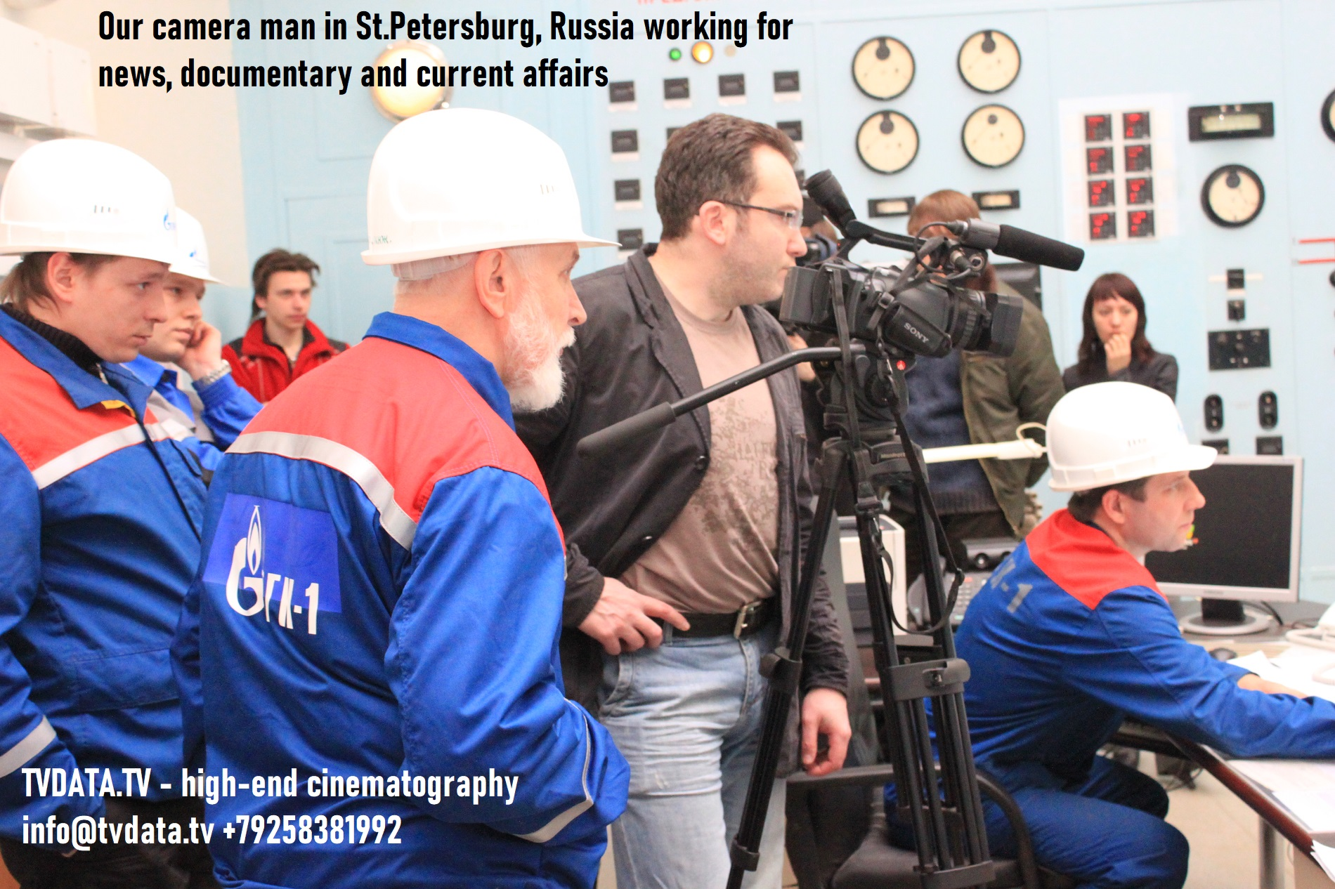high-end cinematography in various cities across Russia