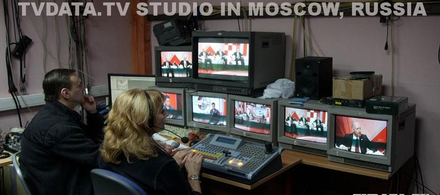 Live Broadcast Studio in Moscow