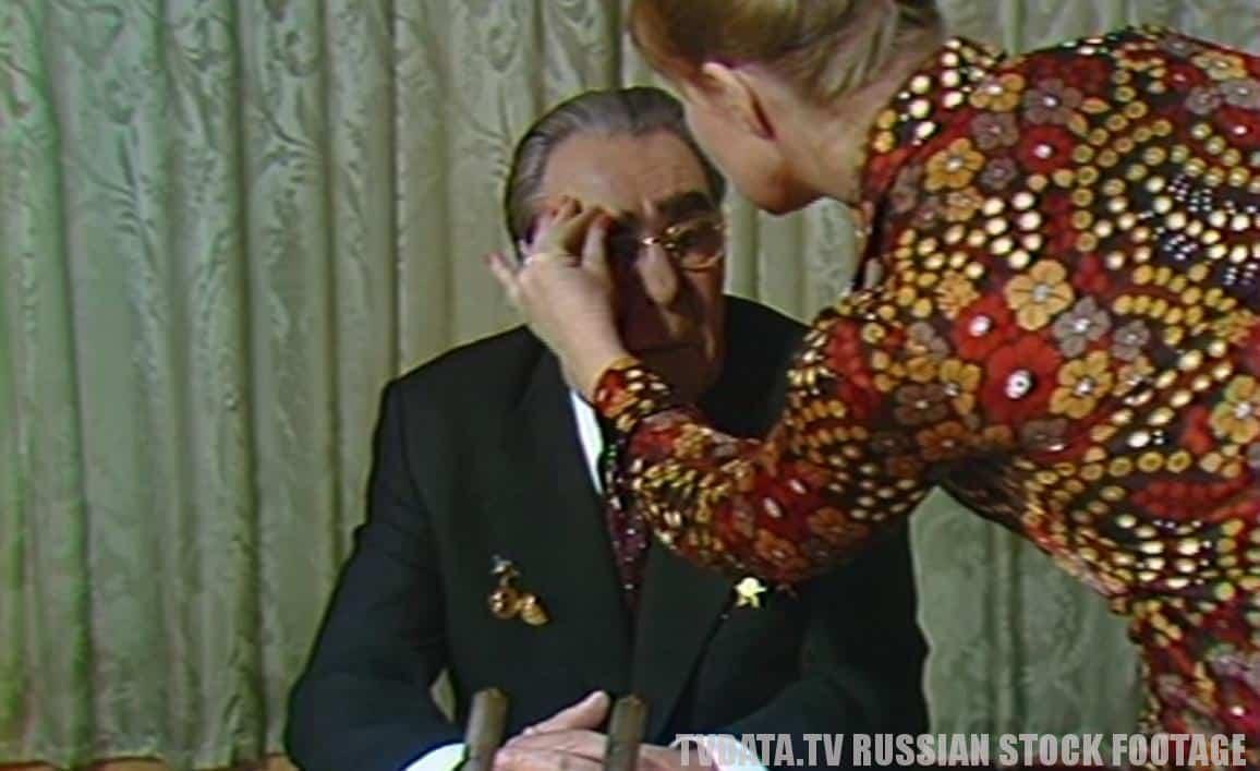 BREZHNEV GENERAL SECRETARY OF THE SOVIET UNION IN KREMLIN