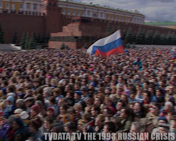 THE SOVIET UNION BROKE IN 1991 FOLLOWED BY THE 1993 RUSSIAN CRISIS