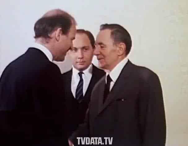 Andrei Andreyevich Gromyko was a Soviet Belarusian communist politician during the Cold War. He met Joe Biden in 1988 in Soviet Moscow.