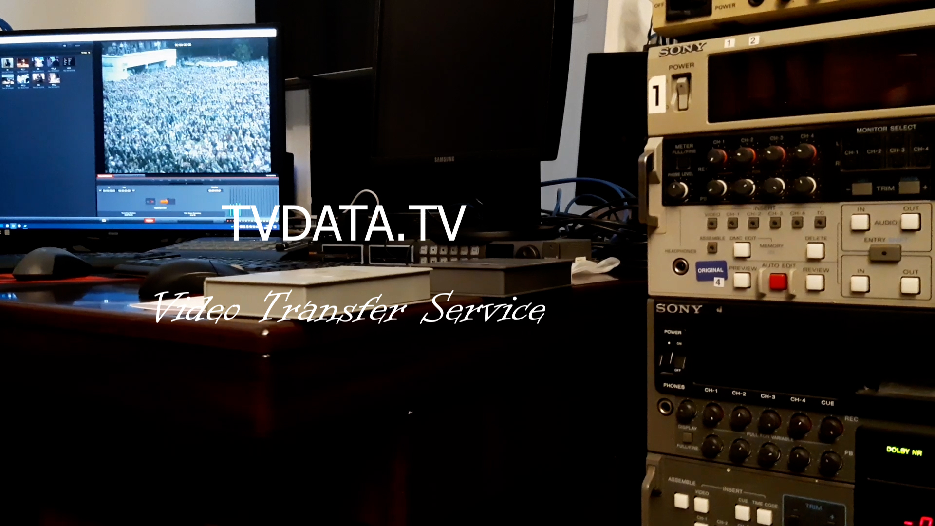transferring video tapes to digital formats. SD/HD Standards Conversion